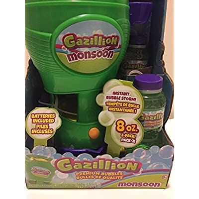 Gazillion Bubbles Monsoon: Toys & Games