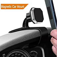 Magnetic Car Dashboard Phone Mount,Linycase Magnetic Car Phone Mount,Adjustable Dashboard Phone Holder with Strong Magnet for iPhone 8/8Plus/X,Samsung Galaxy S8/Note 8,Google Pixel, LG,Huawei