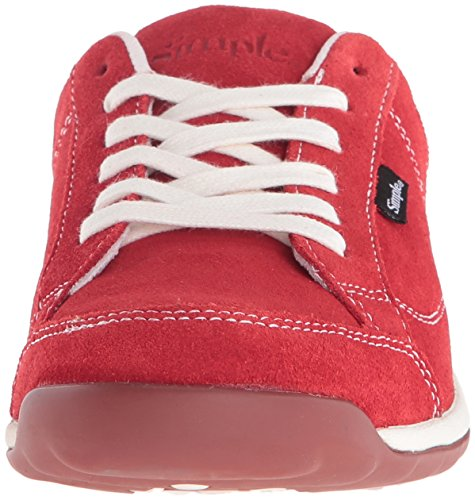 Eenvoudige Damesmode Mode Voor Dames Sneaker Rood