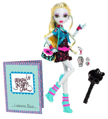 Monster High Ghouls Night Out Doll Lagoona Blue Doll (Lagoona Blue Monster High)