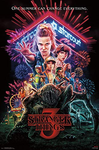 Trends International Stranger Things 3 - One Sheet Wall Poster, 22.375