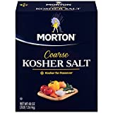 Morton Coarse Kosher Salt, 48.0 OZ