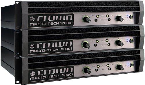 Amazon.com: Crown MA9000I 2500-watt @ 2 ohm Power Amplifier ...