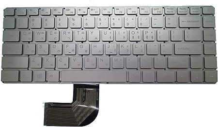 RTDpart Teclado para portátil Chuwi LapBook Pro 14 Coreano KR ...