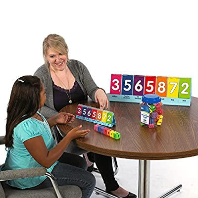 EAI Education Place Value to Millions/Decimal Flip Chart: Demonstration: Toys & Games