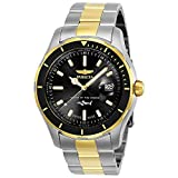 Invicta Men's Pro Diver Quartz Watch with Stainless-Steel Strap, Two Tone, 22 (Model: 25814)