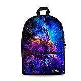 FOR U DESIGNS Cool Galaxy Print Girls Boys Kids Light Canvas School Laptop...