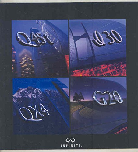 1999 Infiniti Q45t I30 QX4 G20 Brochure for sale  Delivered anywhere in USA