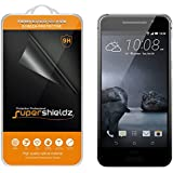 HTC One A9 Tempered Glass Screen Protector, Supershieldz® Ballistics Glass 9H Hardness Anti-Scratch, Anti-Fingerprint, Bubble Free -Crystal Clear - Retail Packaging