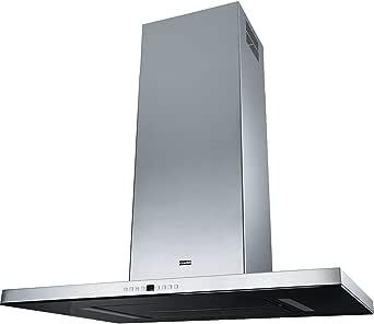 Franke Maris T de Shape Isla FGB 906 IS Isla Campana/acero inoxidable/cristal negro/90 cm/LED Iluminación: Amazon.es: Grandes electrodomésticos