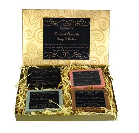 Sip Soap Company Decadent Chocolate Handmade Shea Butter and