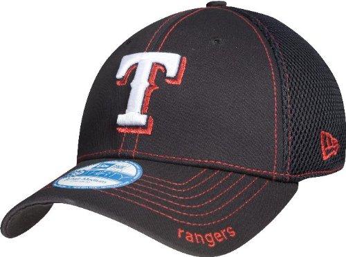 MLB Texas Rangers Neo Fitted Baseball Cap, Royal, Medium/Large