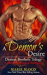 A Demon's Desire (A BBW Paranormal Romance) (Demon Brothers' Trilogy Book 2)