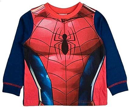 TDP Kids Boys Spiderman Nightwear Pjs Pyjamas Superhero