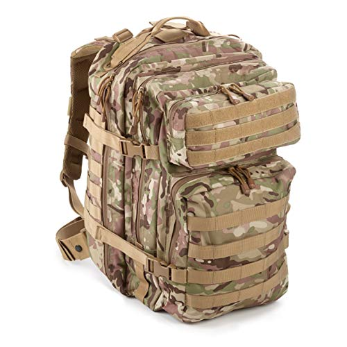 EverTac 40L Large Military Tactical MOLLE Backpack Best Pack for Bug Out  Bag be2b6ca8d1e7a