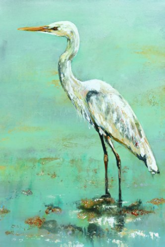 Portfolio Canvas Decor Framed and Stretched Ready to Hang Herons II Canvas Wall Art by Georgie, 24 x 36/Large
