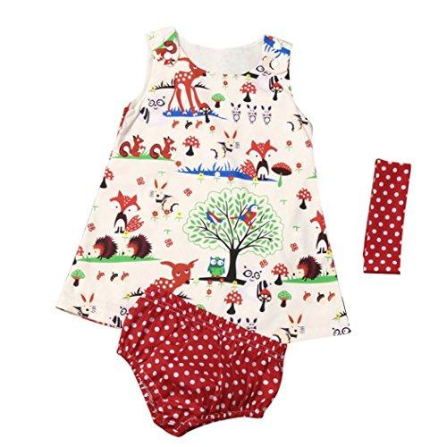 gbsell-3pcs-newborn-toddler-baby-girl-summer-clothes-animal-dress-shorts-headband-multicolor-0-6-mon