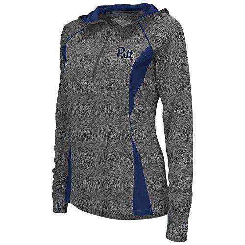 - Womens Pittsburgh Panthers Quarter Zip Wind Shirt - L