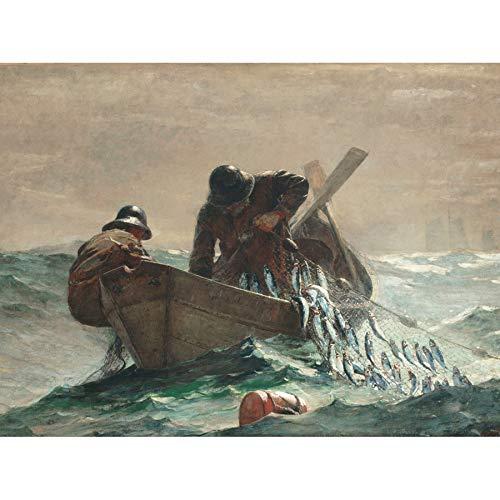 Winslow Homer The Herring Net Unframed Wall Art Print Poster Home Decor Premium