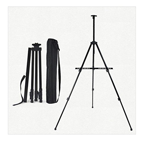 61'' Liftable Easel, Metal Tripod, Sketching Printing Racks Fluorescent Plate Bracket by BestBang