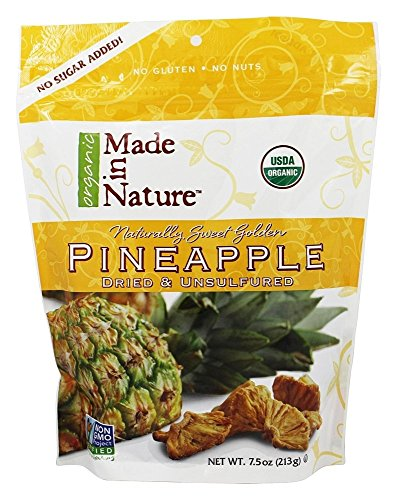 Made in Nature, Pineapple, Dried & Unsulfured, 7.5 oz