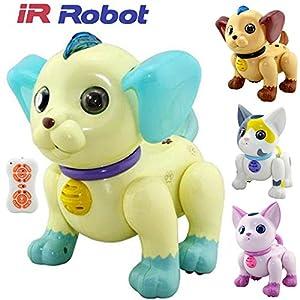 ir robot dg3001 rc intelligent remote control interactive talking walking ir robot dog u0026 cat pet toy 23 day delivery uk seller blue dog