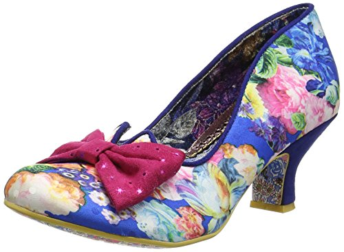 Irregular Choice Dazzle Razzle Womens Shoes Blue Multicolour   38 Eu