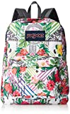 JanSport Superbreak Backpack- Sale Colors (Collage Floral)