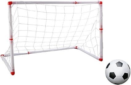 Postes de fútbol para niños Nets Balón de fútbol Juego de deportes ...