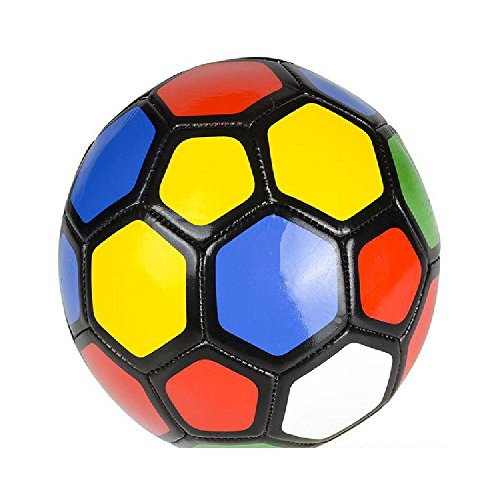 5''Multi Color Soccer Ball by Bargain World