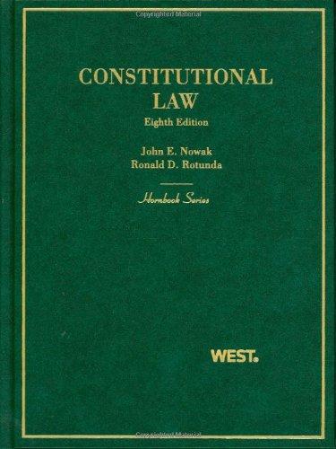 Constitutional Law (Hornbooks)