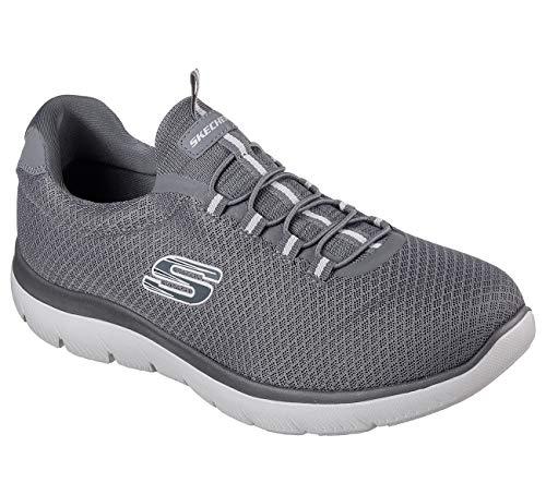 para Skechers Zapatillas t Highland Carbón Hombre q7S0xwC0R