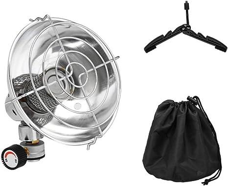 Turbobm Calentador de Gas portátil Calentador de propano al Aire Libre Carpa de butano Calentador Estufa de Camping, Estufa al Aire Libre Pesca Caza ...