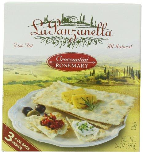 La Panzanella Croccantini Rosemary 3 8 Ounce Bags