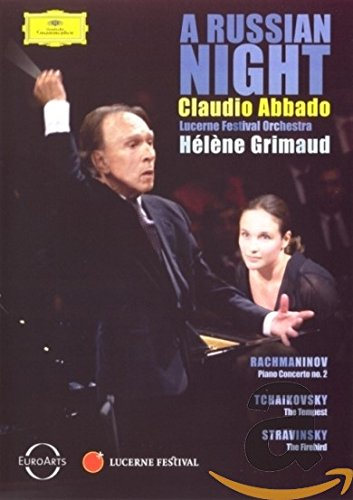 DVD : Claudio Abbado - A Russian Night (DVD)