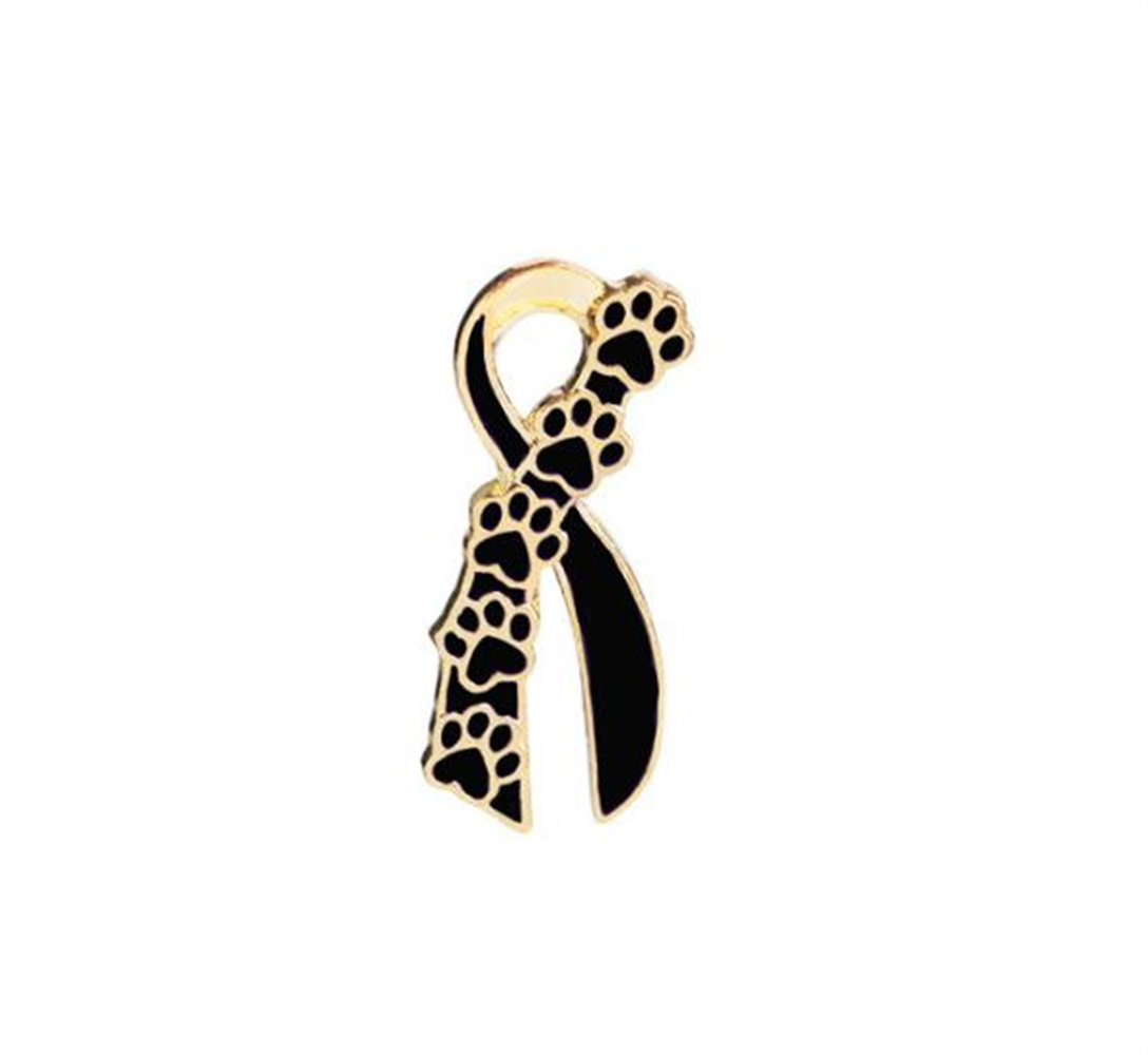 Enamel Pin Badge Souvenir Broches d'arc de griffe de chien de bande dessinée Insigne de bouton d'insigne (couleur d'or) TOUYOUIOPNG