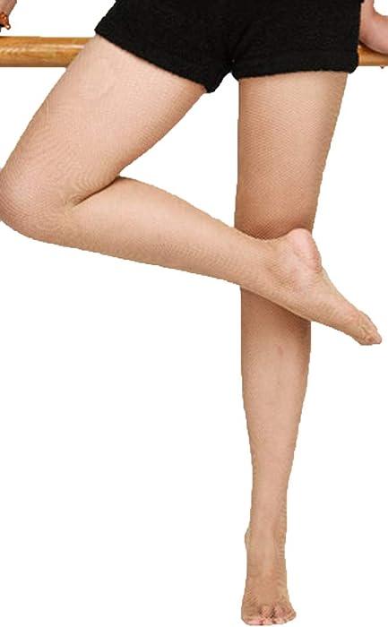 4df96b1822f Bartolini Women Professional Dance Fine Fishnet Tight Stocking (Small