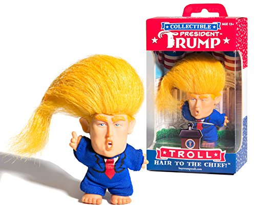 Collectible President Donald Trump Troll Doll - Hair to the Chief (Capture One Express)