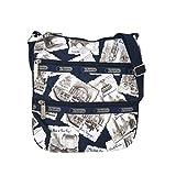 LeSportsac Kylie Crossbody Bag, Greetings From NY Navy
