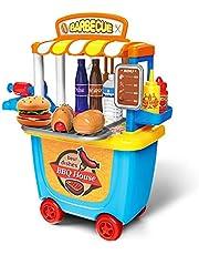 GizmoVine Simulación Helado Juguetes Carros Pequeños Ice Cream Shop Juguetes de Llevar Regalos de cumpleaños Caja de Juguete Kits niñas