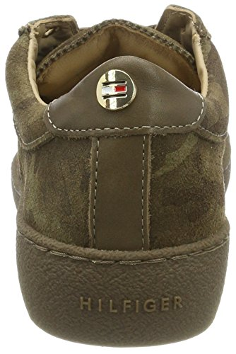 Camo Basses Sneakers Hilfiger Tommy 12z Lo Vert Femme S1285uzie wp8UxzqUO