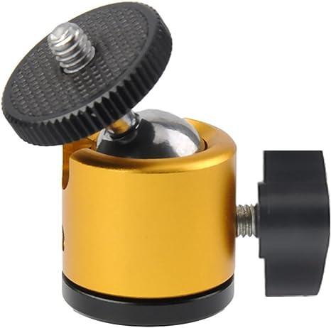 gosky Mini pelota trípode soporte de cabeza para cámara de fotos ...