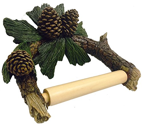 Pine cone Toilet Paper Holder (Pinecone Toilet Tissue Holder)
