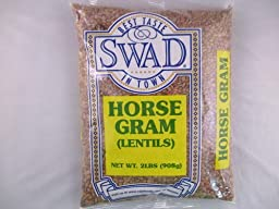 Swad Horse Gram (Muthira, Kulith Beans) - 2 Lb Indian Groceries