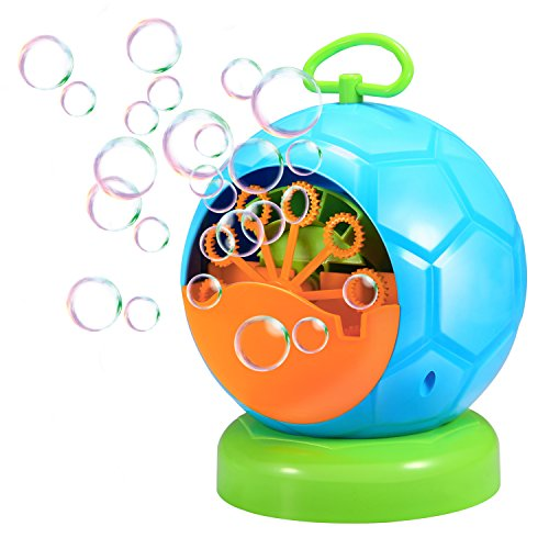 Geekper Upgraded Bubble Machine Automatic Durable Maker for Kids Over 500 Per Minute for Outdoor Or Indoor Use by Geekper