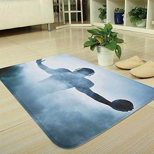 TecBillion Ultra-Soft Mat,Sport,for Kitchen Living Room,35.43