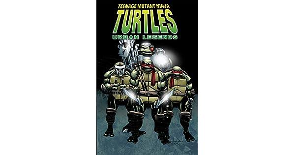 Amazon.com: Teenage Mutant Ninja Turtles: Urban Legends, Vol ...