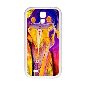 meilinF000Colorful elephant Cell Phone Case for Samsung Galaxy S4meilinF000