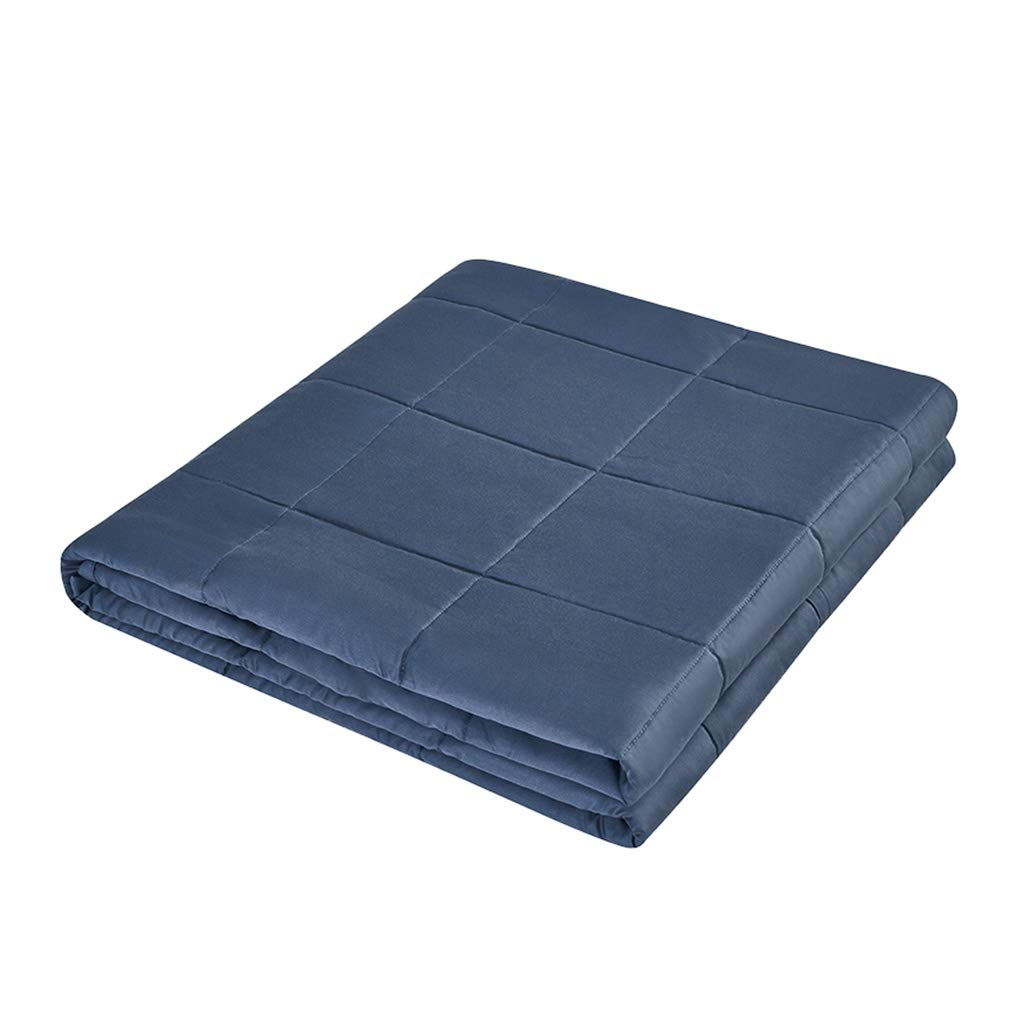 ブルーキルト、ナップエアコンキルト暖かい多機能クリエイティブベッドルームソファカバーブランケットを保つ (サイズ さいず : 150*200CM-9KG) B07K25CGB7  150*200CM-9KG