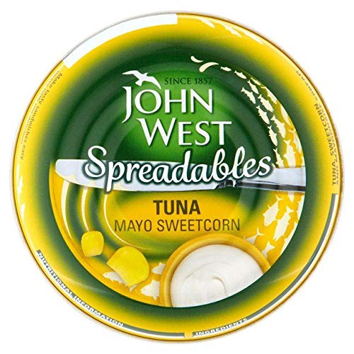 (John West Spreadables Tuna Mayo & Sweetcorn 80g)
